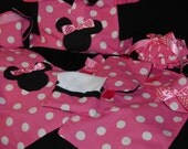 Minnie Mouse Doll Diaper Bag and accessories- Made to order