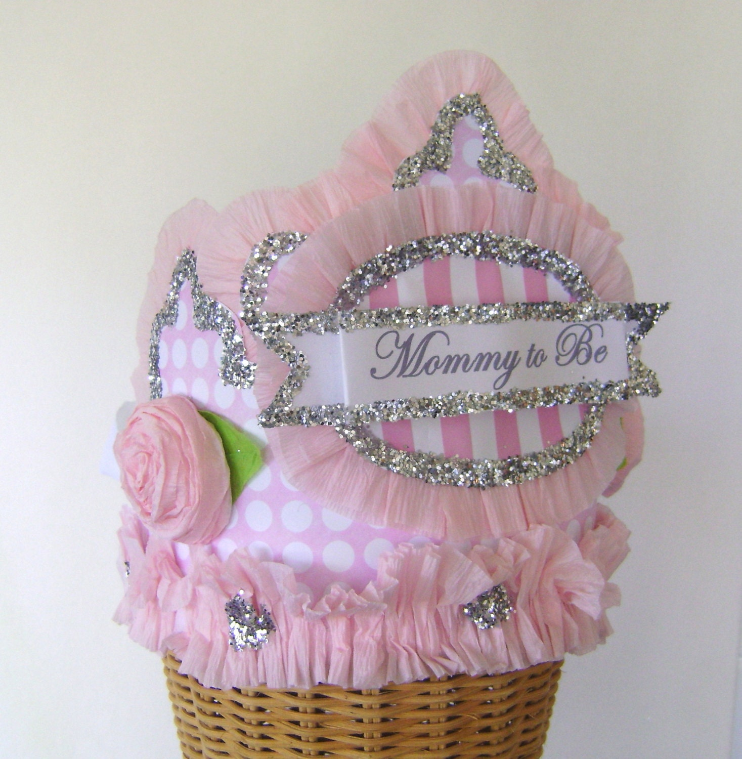 baby shower crown baby shower hat mommy to be hat customize