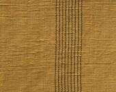 Khadi Cotton Upholstery Fabric Olive Brown - half metre
