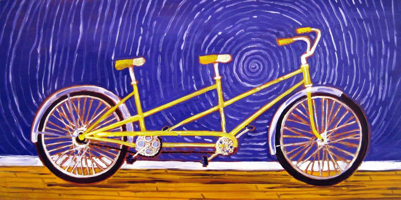 Schwinn Bicycle Painting : Chandeliers pendant lights
