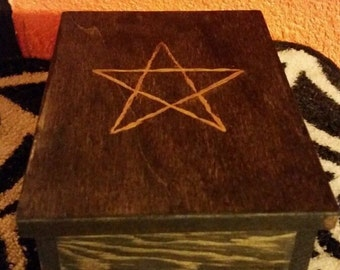 Pentagram Miniature Spell Box