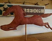 Primitive Horse Weathervane