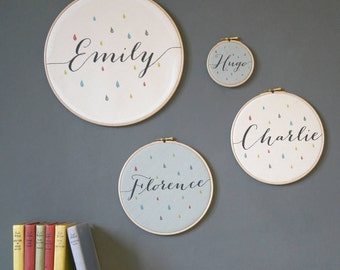 Baby names etsy personalised baby name hoop new baby gift new parent gift new born negle Gallery