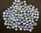 Natural Rainbow Moonstone Mixed Collection Cabochons - Jewelry Supplies - S118