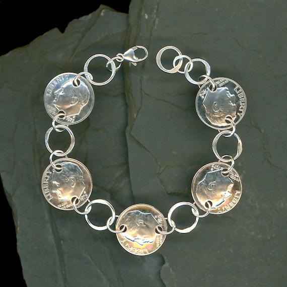 ... Bracelet 40th Anniversary Gift Jewelry 1975 40th Birthday Gift Women