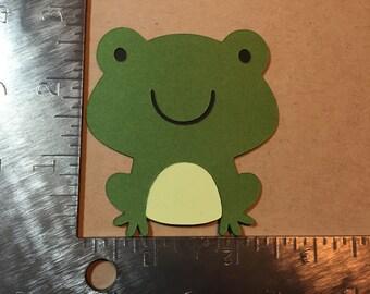 Frog Die Cut