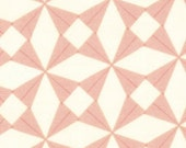 Pink Baby Bedding - Changing Pad Cover - Crib Sheet - Standard and Mini Crib Sheets / Geometric Fitted Crib Sheet / Modern Baby Bedding