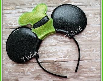 Goofy Hat Mouse Ears Headband - CUSTOM - Twincess Bowtique