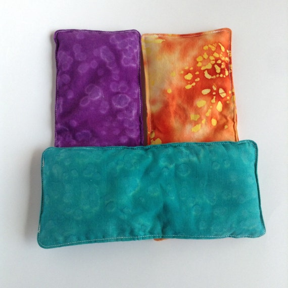 Microwave Rice Bag Vanilla Eye Pillow Small Heat By