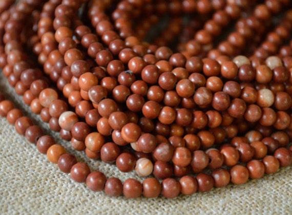 Red Malachite Stone : Pcs mm red malachite marble natural gemstone beads