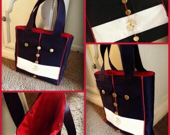 USMC Dress Blues Tote