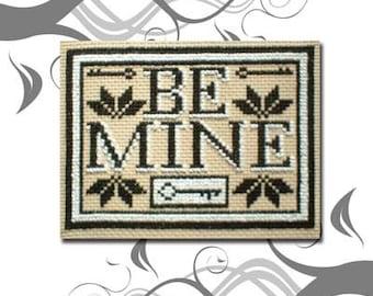 PDF E pattern emailed Embroidery Valentine Cross Stitch Pattern Sampler 59