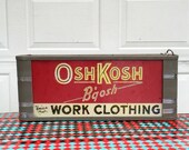Osh Kosh B'gosh light up sign.