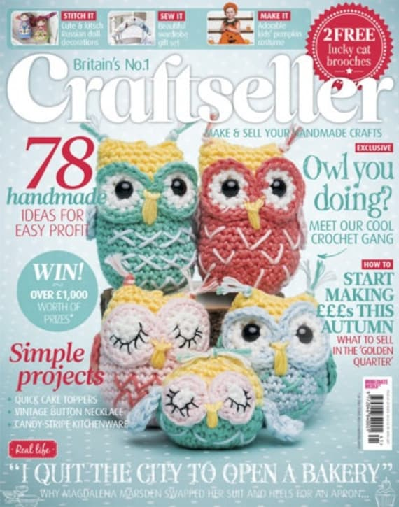 Amigurumi Owl Family : Patterned owl family amigurumi PDF crochet pattern