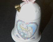 Precious Moments Sealed with a Kiss Wedding Bell 1992 Enesco Corp.