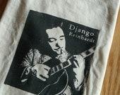 Django Reinhardt Inspired Screenprinted T-Shirt