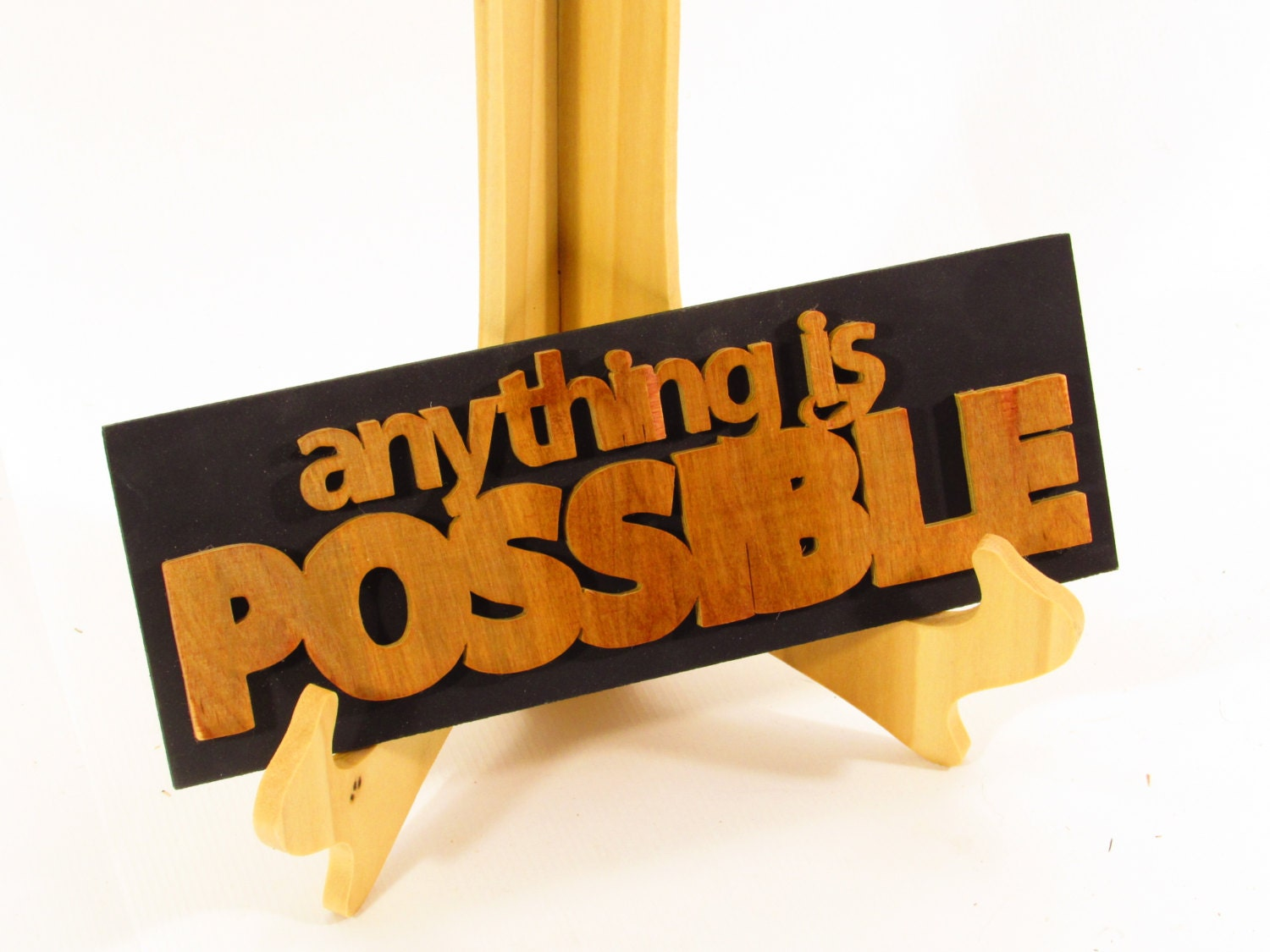 Anything is Possible Word Art Wall Art Home Decor Office