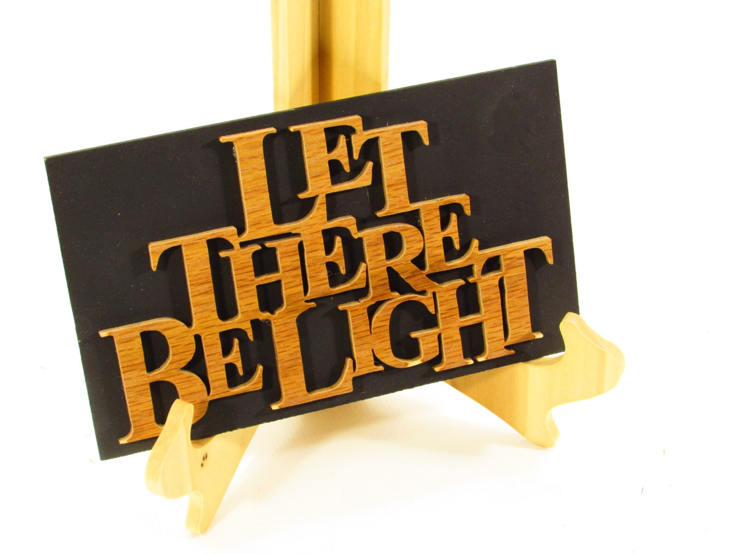 Let There Be Light Word Art Wall Art home Decor Office
