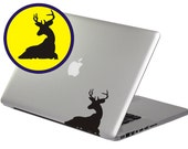 Cute Deer--Ipad Tablet Flat Pc Macbook Notebook Laptop Removable Graphic Art Wall Decals Stickers