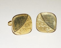 Anson Signed Etched Cuff links