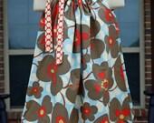 Child Pillowcase Dress (0-8) in Amy Butler Lotus
