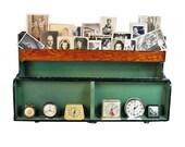 "Vintage Wooden Carpenters Box - Toolbox ""Ripe for Repurpose"""
