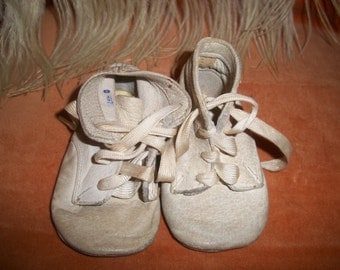 Vintage Antique Baby or Doll Shoes
