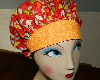 Mod Century  Banded Bouffant Surgical Cap
