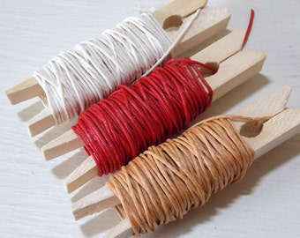 15 Yards String Twine for String and Button Envelopes PICK YOUR COLOR