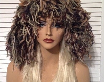 Ghilly/Camo Wig Hat HALLOWEEN SALE