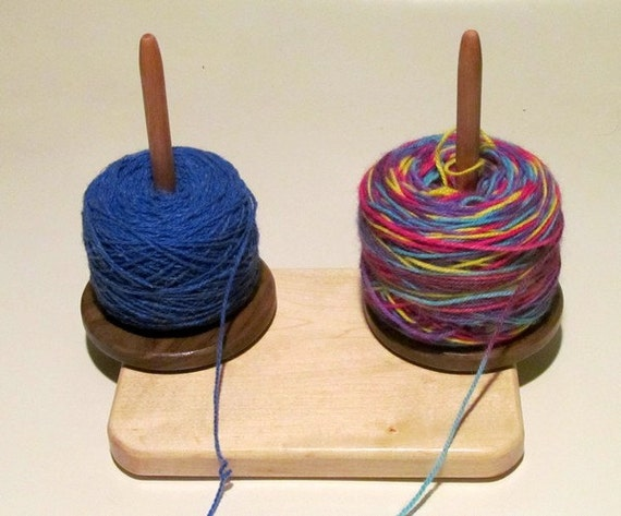 how to make a yarn lazy susan