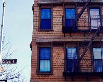 Calyer St Building, New York City Brooklyn Photography Print, NYC Greenpoint Wall Art
