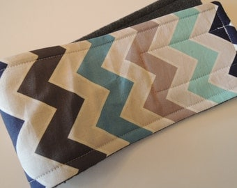 Dog Belly Band, Shaded Chevron Fabric, Stops Marking,  Personalized