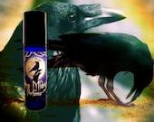 RAVEN BOY Perfume Oil - Inspired by Game of Thrones - oakmoss, musk, tobacco leaf, sage, dark vanilla sugar, amber, oak - Bran Stark