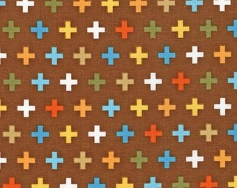 Remix Crosses Bermuda by Ann Kelle for Robert Kaufman, 1/2 yard