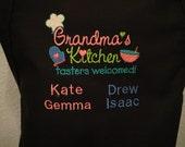 Grandma's Kitchen Full Length Apron