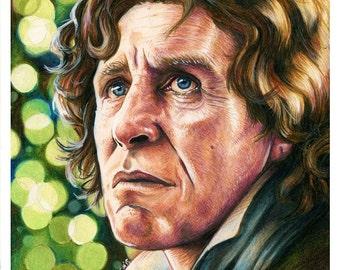 8th Doctor Paul McGann Color Print