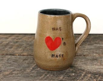 Personalized Couple Coffee Mug
