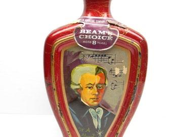 Vintage  Jim Beam Mozart  Whiskey Decanter