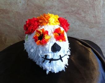 Mini Day Of The Dead Skull Pinata