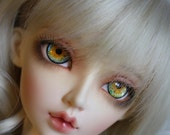 BJD eyes Doll eyes Hand made available in 12141618202224mm Bluebell Sparkle made to order