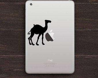 Camel Vinyl iPad Decal BAS-0297