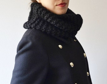 Chunky Cowl Unisex Infinity Scarf Winter Accessories Cross