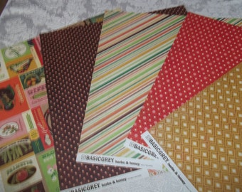 Herbs & Honey Collection 20 6x6 Sheets paper by Basic Grey