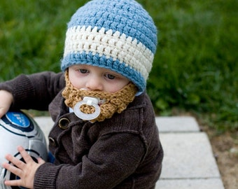 SALE! CUSTOM Infant Ultimate Bearded Beanie