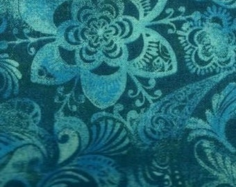By the Yard Extra Wide Tonga Batik Fabric, Floral Cotton print Batik/Batik Clothing/ Indonesian Batik