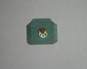 Vintage 10K White & Yellow Gold St Louis Children's Hospital Employee Service Award Pin