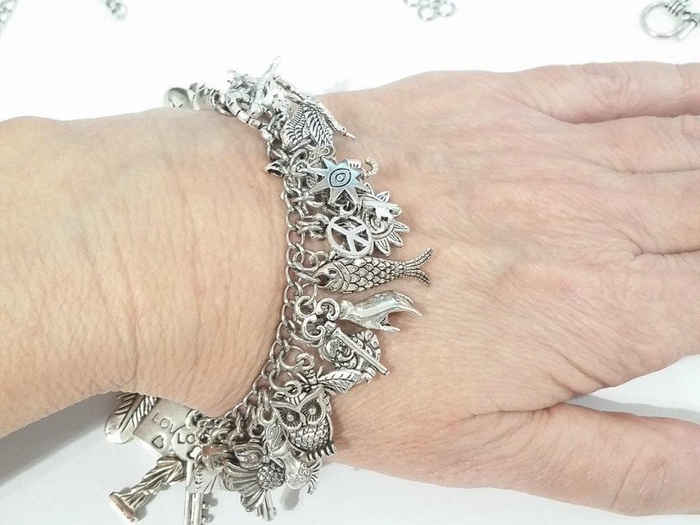 Charm Bracelet Kit - Over 50 Charms