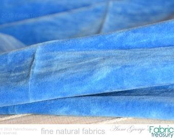 Blue Velvet Fabric Etsy