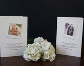 Custom Pet Sympathy Card-Email your Photograph for a Custom Image on the Front and Helen Keller Quote Comes with a Recycled Envelope